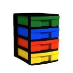 Schubladen-Container,  42 cm hoch, 30x39 cm (B/T), 1-spaltig,