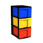 Schubladen-Container mit 3 hohen Schüben, 62x30x39 cm HxBxT
