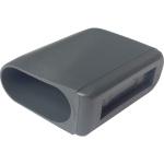 ERSATZTEIL: Fußkappe für Tisch MTH, flachoval 35 x 15 mm