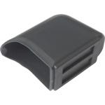 ERSATZTEIL: Fußkappe für Tisch TH, Maß flachoval 55 x 35 mm