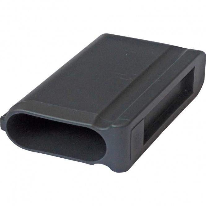 ERSATZTEIL: Fußkappe für Tisch MT, flachoval 40 x 20 mm